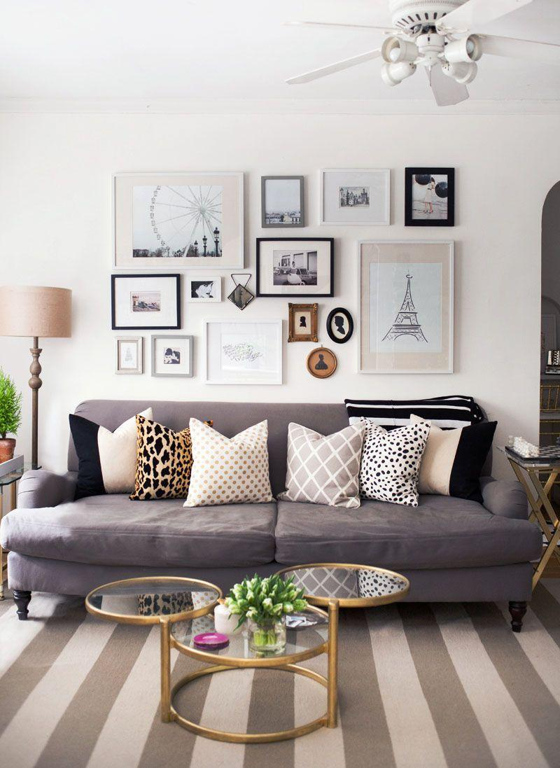 Alaina Kaczmarski's Lincoln Park Apartment Tour - The Everygirl | Home  living room, Home decor inspiration, Room inspiration