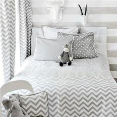 Chevron Bedding, Contemporary, boy's room, New Arrivals Inc