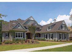 Craftsman House Plan with 6622 Square Feet and 5 Bedrooms from Dream Home Source | House Plan Code DHSW54303