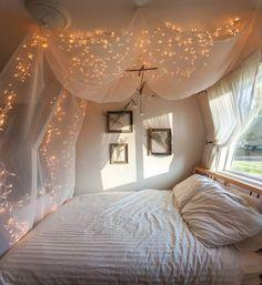 """Fresh and Bright twinkle lights at night """"dream that your dancing with the stars """" love it!!!!!!! <3"""