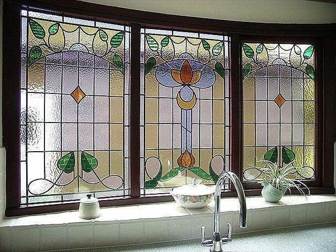 Image result for 28.Stained glass: kitchen window ideas pinterest