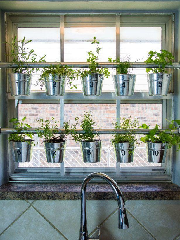 Image result for 9. Herb garden:kitchen window ideas pinterest