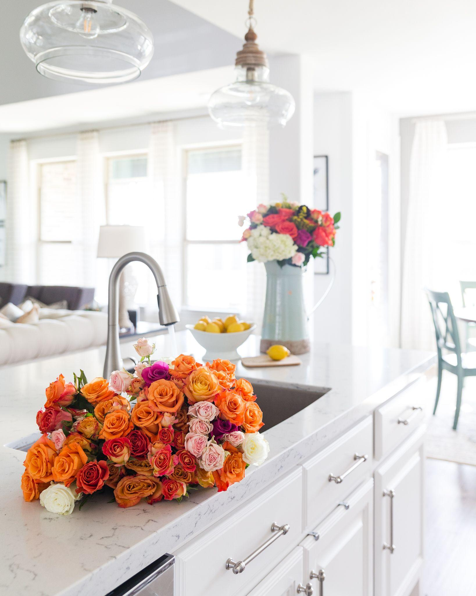 Image result for A Pop Of Color kitchen window ideas pinterest