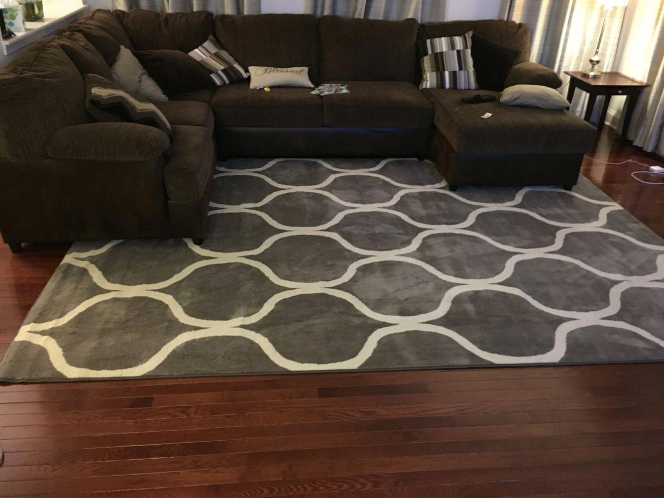 Image result for Accent rugsbrown sofa pinterest