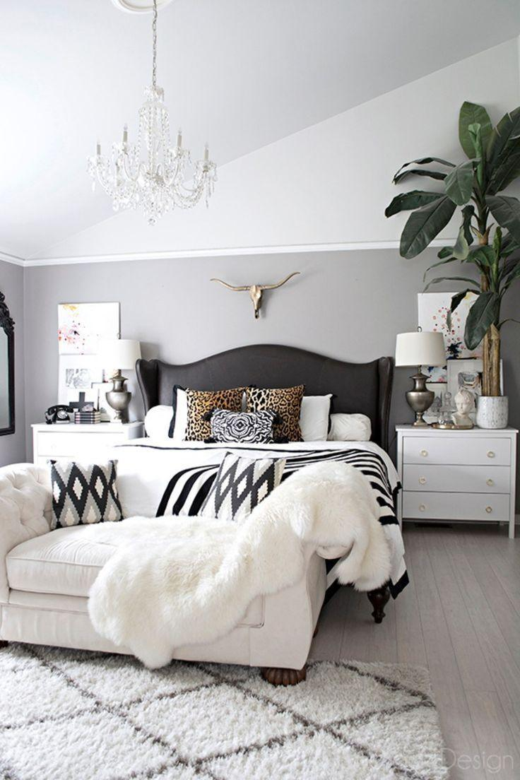 Image result for . Black and white:master bedroom pinterest