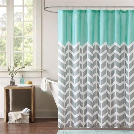 Image result for Cedmon Waterproof Fabric Shower Curtain pinterest