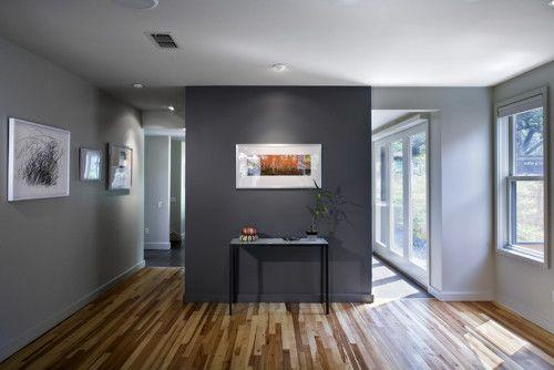 Image result for Charcoal Grey Accent Wall blue grey bedroom pinterest