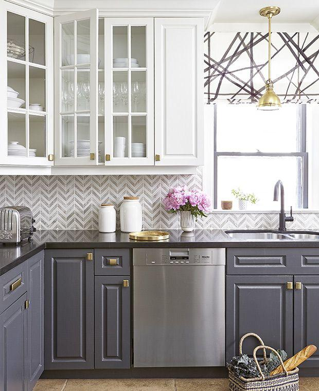 Image result for Contrasting colors:kitchen window ideas pinterest