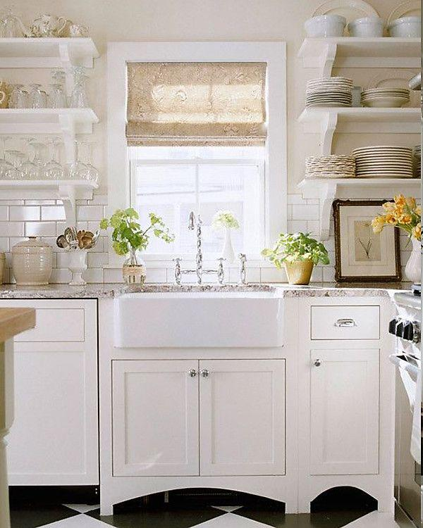 Image result for Country cottage fresh: kitchen window ideas pinterest