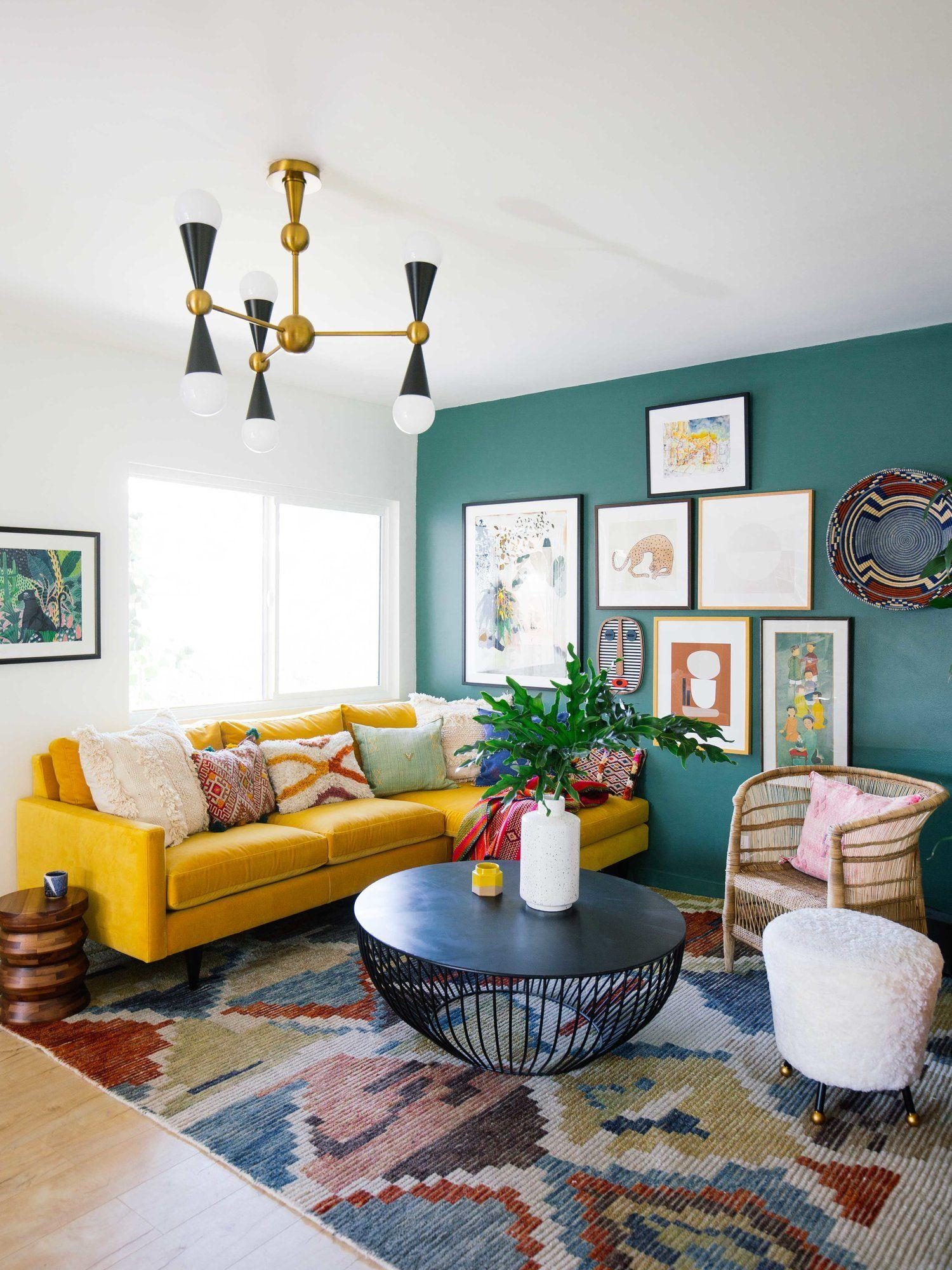 Image result for Eclectic pieces and print:living room  pinterest