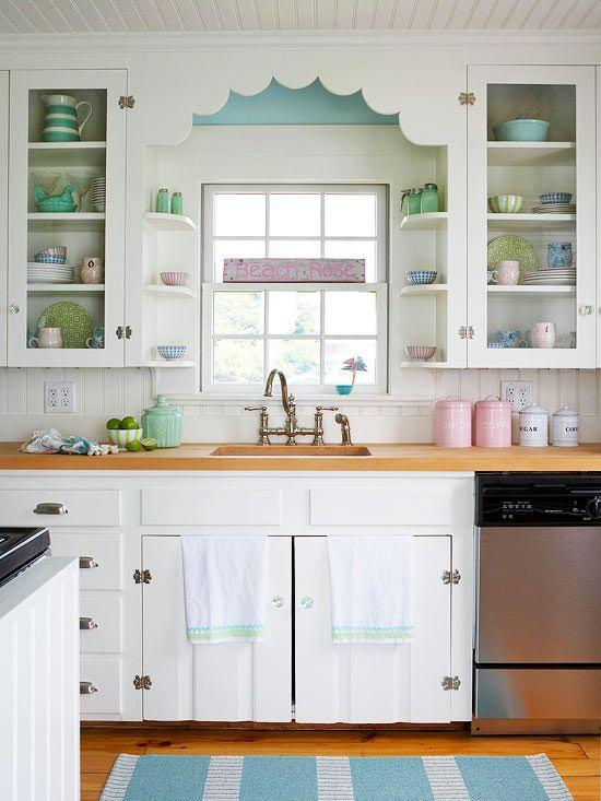 Image result for Farmhouse chic: kitchen window ideas pinterest