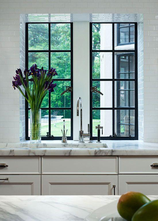 Image result for Frame for A-frame kitchen window ideas pinterest
