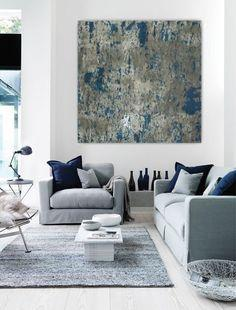 Image result for Go with art piece: living room  pinterest