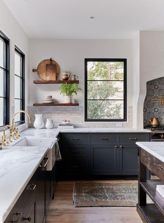 Image result for Homey and rustic: kitchen window ideas pinterest