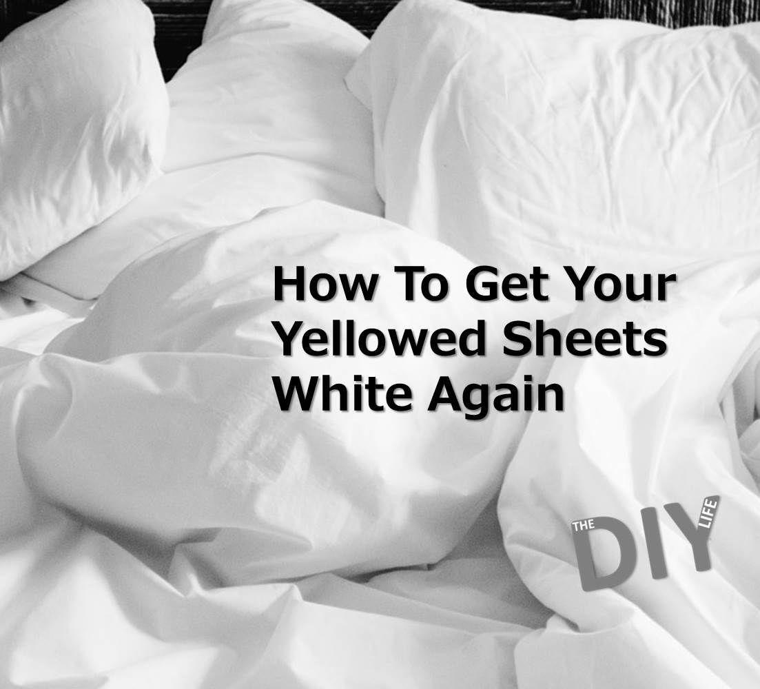 Image result for How To Get Yellow Stains Out Of White Sheets pinterest