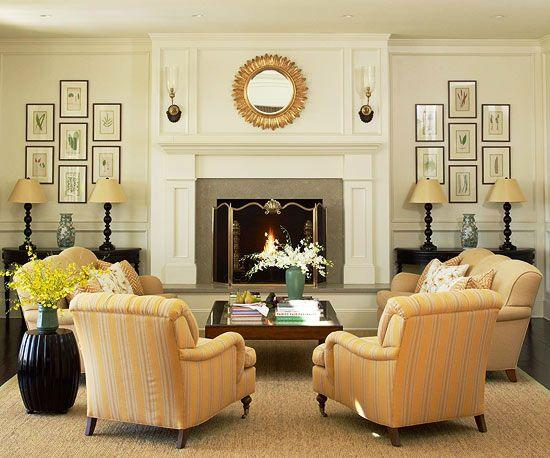 Image result for . Install symmetrical collection: living room in pinterest