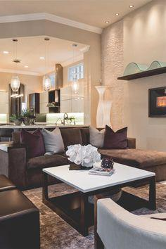 Image result for Leather Pairing brown sofa pinterest