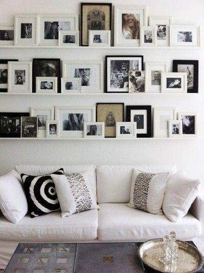 Image result for Multiple frames: living room in pinterest