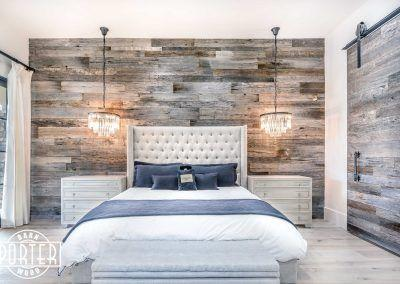 Image result for Reclaimed wood wall:master bedroom pinterest
