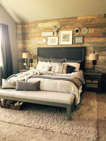 Image result for . Rustic bed:master bedroom pinterest