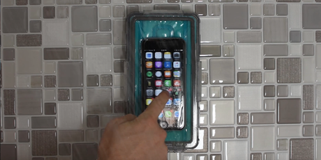 Image result for Shower universal waterproof phone case and wall dock:pinterest