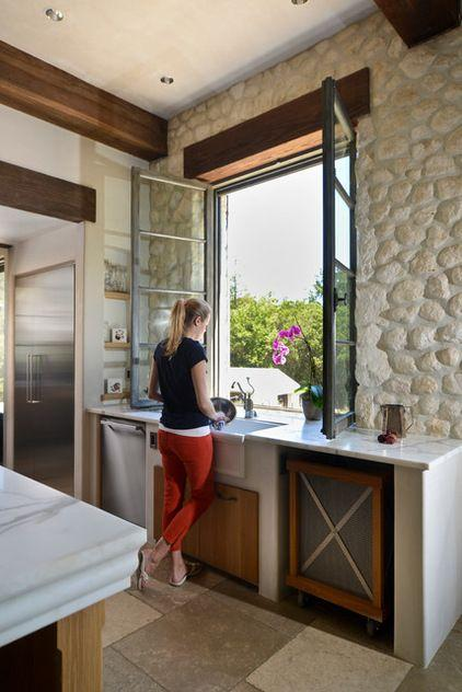 Image result for Simple and surrounded kitchen window ideas pinterest