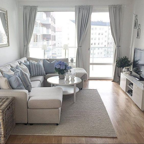 Image result for Small and simple:living room in pinterest