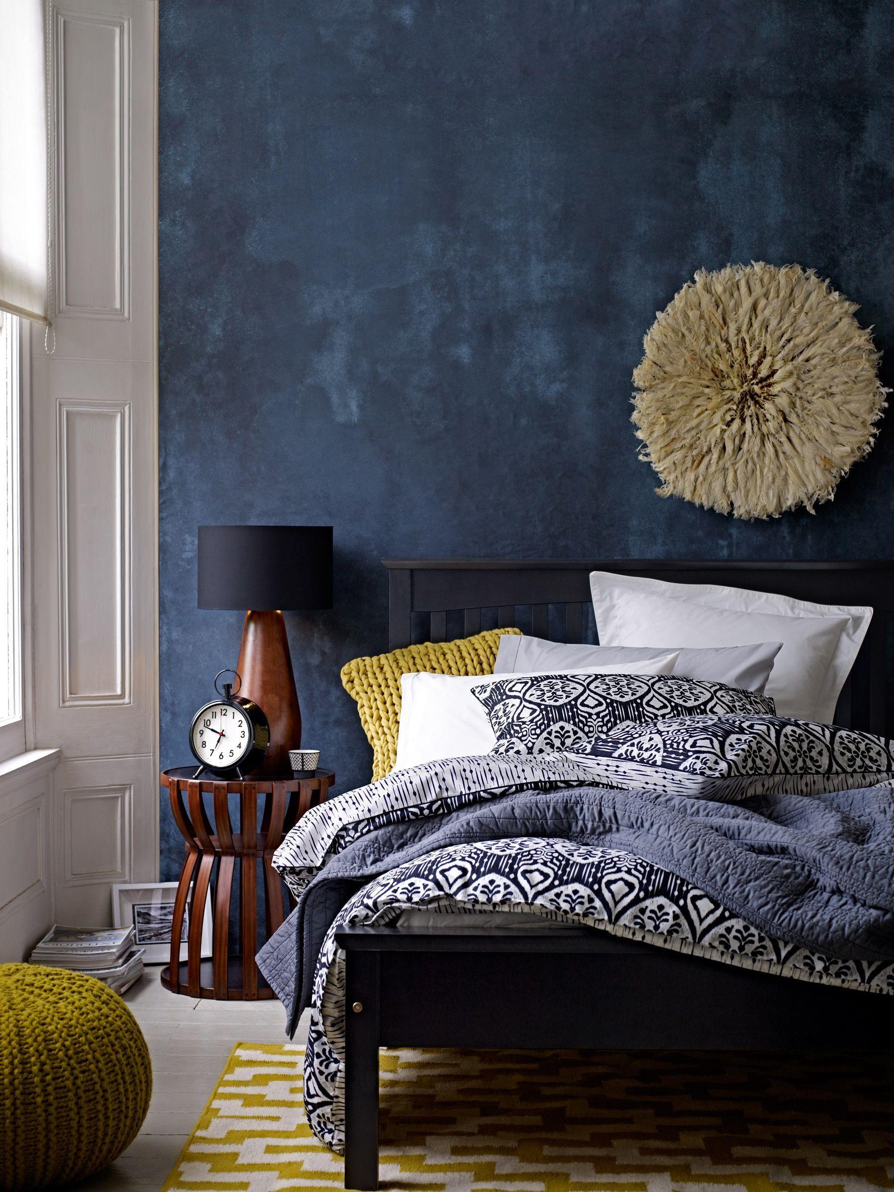 Image result for Texture walls:blue grey bedroom pinterest