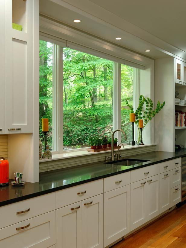 Image result for Top to bottom:kitchen window ideas pinterest