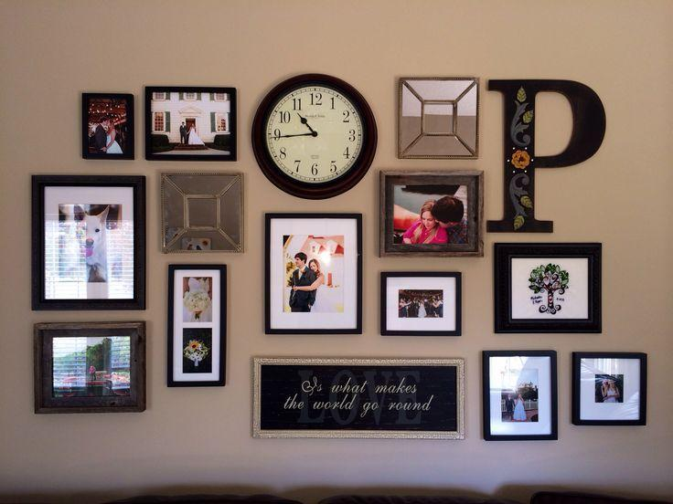 Image result for Use pair of frames wall decor pinterest