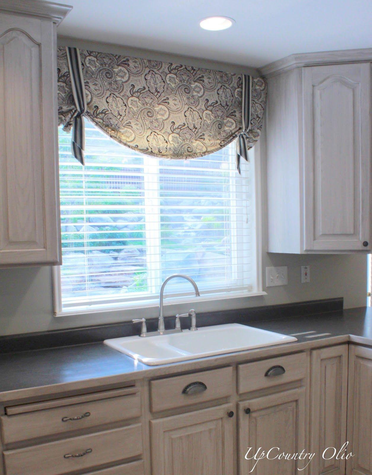 Image result for Valance balancing act: kitchen window ideas pinterest