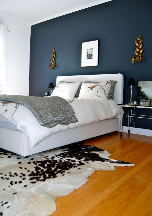 Image result for White room accent:blue grey bedroom pinterest