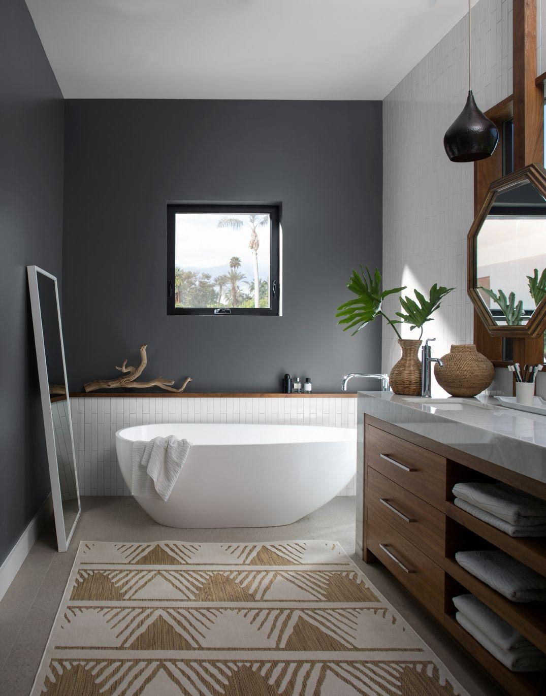 Image result for Why Not Choose Tile Instead Of Paint? bathroom pinterest