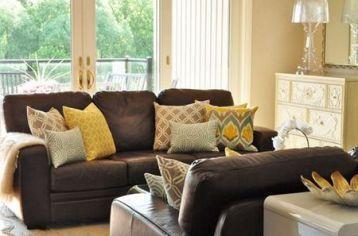 Living room colors with brown couch ideas 29 | Brown living room decor, Brown  sofa living room, Brown couch living room